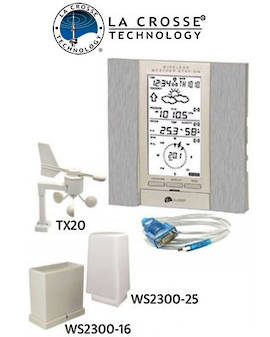 WS2355 La Crosse Prof Weather Station with PC Links