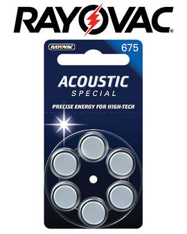 Rayovac Size 675 Hearing Aid Batteries