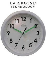 403-310 La Crosse 25cm Wall Clock with Night Sensor