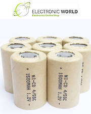 4/5 SC SUB-C Size Ni-CD Rechargeable Battery