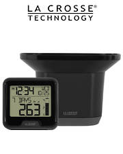 724-1409 Digital Rain Monitor with Indoor Temperature