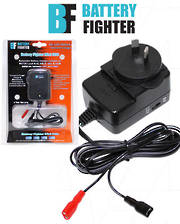 BATTERY-FIGHTER 6V or 12V SLA Battery Charger