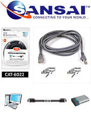 SANSAI Cat6 Network Cable 2m