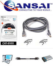 SANSAI Cat6 Network Cable 10m