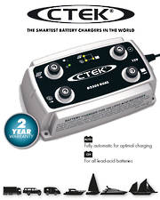 CTEK D250S Dual DC Input Smart Battery Charger