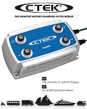 CTEK D250TS 24 Volt Smart Battery Charger