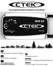 CTEK MXS 25 Smart 12 Volt Battery Charger