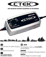 CTEK MXS 7.0 Smart 12 Volt Battery Charger
