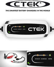 CTEK CT5 Start / Stop 3.8A Battery Charger