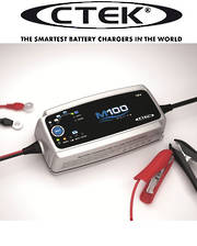 CTEK M100 12V 8 Step Marine Battery Charger (7 Amp)