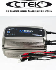 CTEK M200 12V 15 Amp Marine Battery Charger