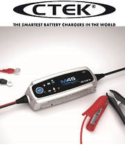 CTEK M45 4 Step Charger upto 120Ah Battery