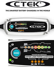 CTEK MXS 5.0 Test and Charge 12 Volt Battery Charger