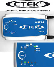 CTEK MXT 14 24V 14amp Charger - Optimal charging for bus and truck