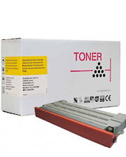 Compatible Brother TN04, Lexmark 20K1402 Yellow Toner