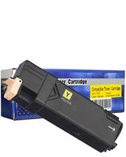 Comp Fuji Xerox CT201117 Yellow Toner Cartridge