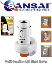 SANSAI LED Night Light - Multi Function