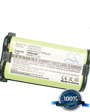 For PANASONIC HHR-P513, HHR-P513A, TYPE 27  Cordless Phone Replacement Battery