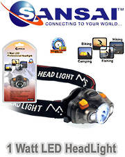 SANSAI 1W LED Headlight