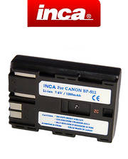 INCA CANON BP-511 Compatible Battery