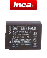 INCA PANASONIC DMW-BLC12 Compatible Battery
