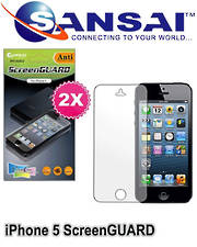 SANSAI iPhone 5 Screen Protector - 2PCs Pack