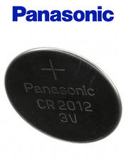 PANASONIC CR2012 Lithium Battery