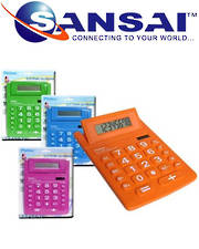 PHILEX 8 Digit Display A5 Size Soft Key Desktop Calculator