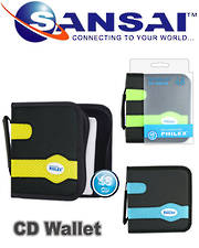 PHILEX CD/DVD Wallet 48Pcs