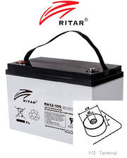 RITAR RA12-100SD 12V 100AH Deep Cycle SLA Battery