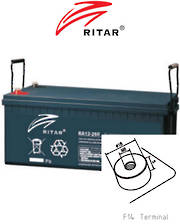 RITAR RA12-260SD 12V 260AH Deep Cycle SLA Battery