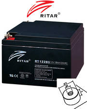 RITAR RT12280S 12V 28AH SLA Battery