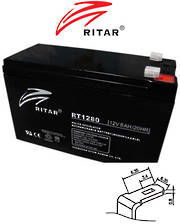 RITAR RT1280 12V 8AH SLA battery