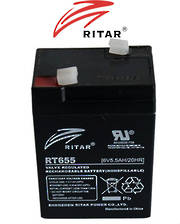 RITAR RT655 6V 5.5AH SLA battery