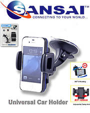 SANSAI Universal Car Mount Smart Phone & GPS Holder