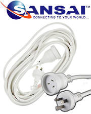 SANSAI Power Extension Cords 10m