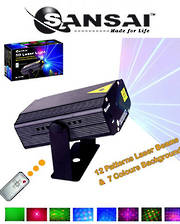 SANSAI Multi Pattern 3D Laser Lighting