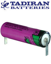 Tadiran TL-5903 (T) AA Lithium Battery with Solder Tags