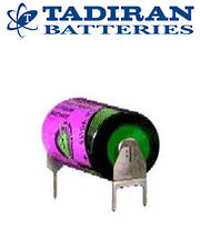 Tadiran TL-5902 (PT) 1/2AA 3.6V Lithium with 3-Pin (D+7mm S-)