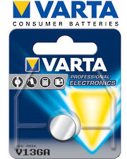 Varta HE LR44 V13GA 1.5V Alkaline Button Cell Battery