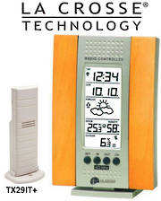 WS7014IT La Crosse Weather Station Take up to 3 Sensors
