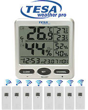 WS710 TESA Thermo Humidity In/Outdoor 8-Channel