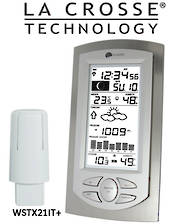 WS9032 La Crosse Moon Phase Weather Station Borameter