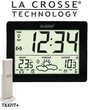 WS9180IT La Crosse Compact Wall Weather Station