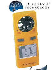 WS9500 La Crosse Handheld Anemometer - Windspeed Indicater