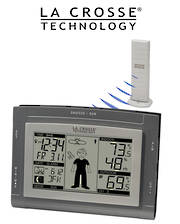 WS9611U-IT La Crosse Wireless Station with Sun/Moon and Forecast Icon
