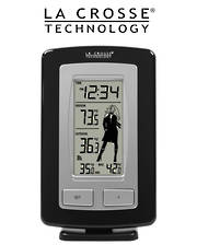 WS9760U-IT La Crosse Wireless Temperature Station with Weather Girl