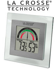 WT-137U La Crosse Comfort Meter with Temp and Humidity