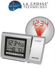 WT5110 La Crosse Projection Clock with Indoor Temp Humidity
