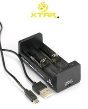 XTAR USB 2-Cell Lithium-Ion Battery Charger